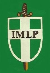 Insignia del IMLP hasta 1978 y que lució Gastón Madariaga en la camiseta roja del colegio en sus tiempos de jugador