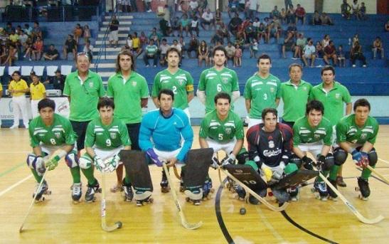 Equipo de León Prado que jugó en el Sudamericano de Clubes en Sertaozinho, en noviembre de 2011.