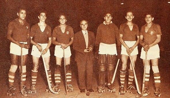 Audax Italiano, campeón del Torneo Sudamericano de 1953. Dirigido por Rafael Casali, lo lideraba Alfonso Finalterri.
