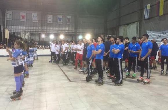 Vista a la ceremonia de inauguración del XXIX Sudamericano de Clubes Campeones en Buenos Aires,
