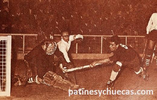 Mundial 1962, Chile vs. Alemania. El hockey nacional comenzaba a aplicar el 1-1-2.