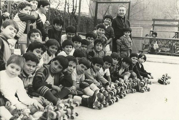 Más de tres lustros estuvo al frente de la Escuela de Hockey del León Prado.