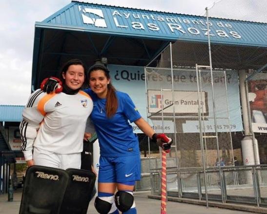 Fernanda Hidalgo y Cata Flores, además de la OK LIga, tendrán un importante desafío en la Copa defendiendo al CP Las Rozas.