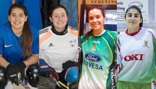 Cata Flores, Fernanda Hidalgo, Francisca Puertas y Francisca Donoso ampliarán sus respectivos CV's deportivos con la Copa de la Reina.