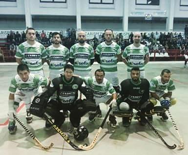 El Giovinazzo seguirá en la próxima temporada en la máxima serie del hockey italiano.