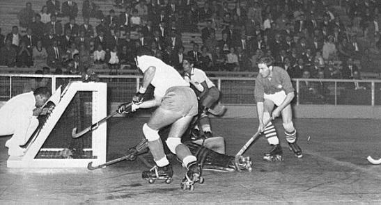 Portugal vs. Suiza, en el Mundial de Barcelona de 1964. (Crédito foto: francisco-velasco.com)