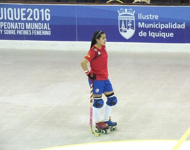 Cata Flores, muy segura mirando sus objetivos inmediatos en el Mundial. (crédito foto: Sergio Contreras S.)