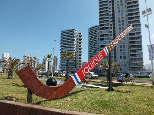 El Fan Fest, al borde de la playa, es uno de los atractivos de este Mundial. (crédito foto: Sergio Contreras S.)