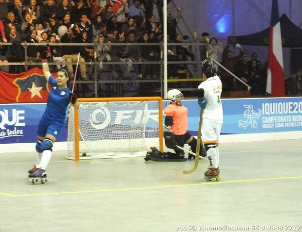 Cata Flores dio el gran salto de su carrera con su llegada al HC Liceo. En Galicia aguardan por sus goles.