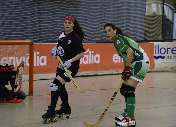 Francisca Puertas aportó con dos tantos en la victoria del Sferic Terrassa.