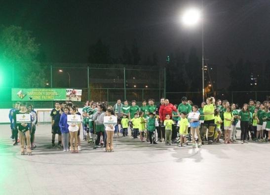 Impecable fue la organización de la primera versión de la Copa Vilanova. (crédito foto: facebook Club Hockey Patín Vilanova Chile)