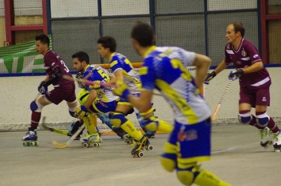 Benjamín Puentes -al extremo izquierdo- también formó ante el CH Caldes. (crédito foto: uscoutrasrh.fr)