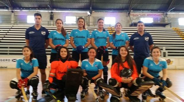Thomas Bata, el equipo chileno mejor ubicado en el IV Sudamericano Femenino de Clubes.
