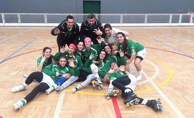 El Liceo La Coruña, con Cata Flores como referente, sigue sumando en la OK Liga.