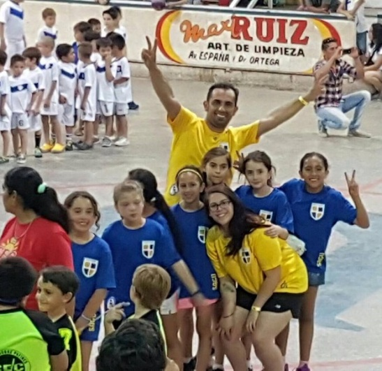 Las peques de San Agustín ya están en Cuartos de Final, en San Juan. (crédito foto: gentileza)
