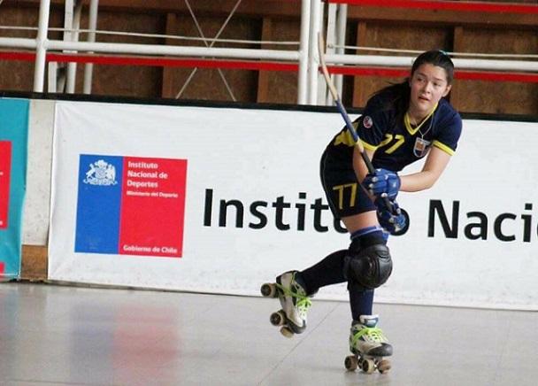 Micaela Carrillo anotó esta mañana en la victoria de San Agustín sobre Universidad de Chile.